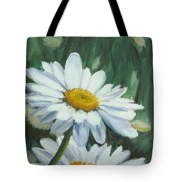 Joe's Daisies Tote Bag by Lea Novak