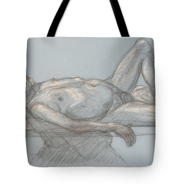 Joey Reclining #1 Tote Bag by Donelli  DiMaria
