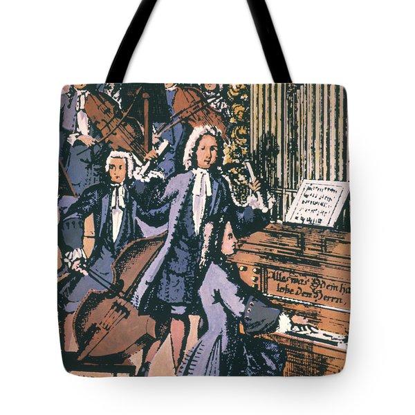 Johann Sebastian Bach, 1732 Tote Bag by Granger