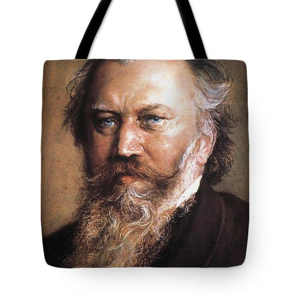 Johannes Brahms Tote Bag by Granger