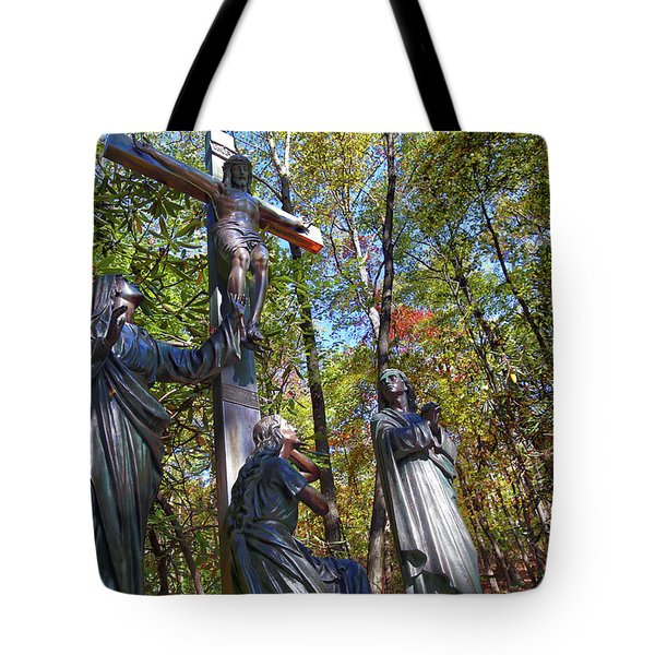 Tote Bag featuring the photograph John 3 16 by Mitch Cat