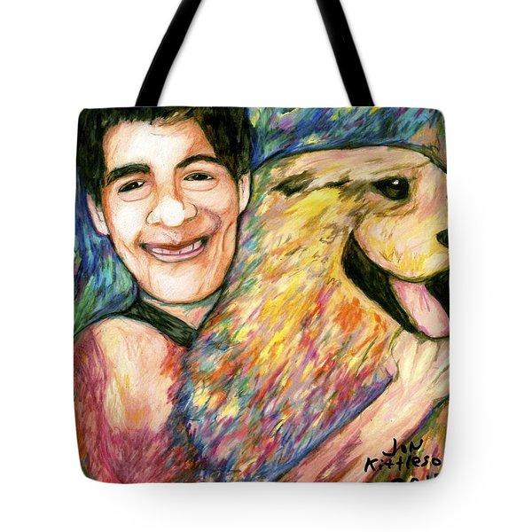 John And Sammy Tote Bag