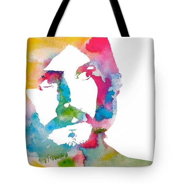 John Bonham Watercolor Tote Bag