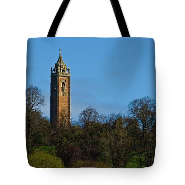 John Cabot Tower Tote Bag by Brian Roscorla