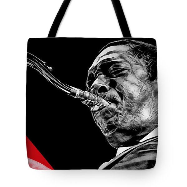John Coltrane Collection Tote Bag by Marvin Blaine