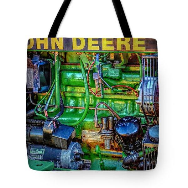 John Deere Engine Tote Bag