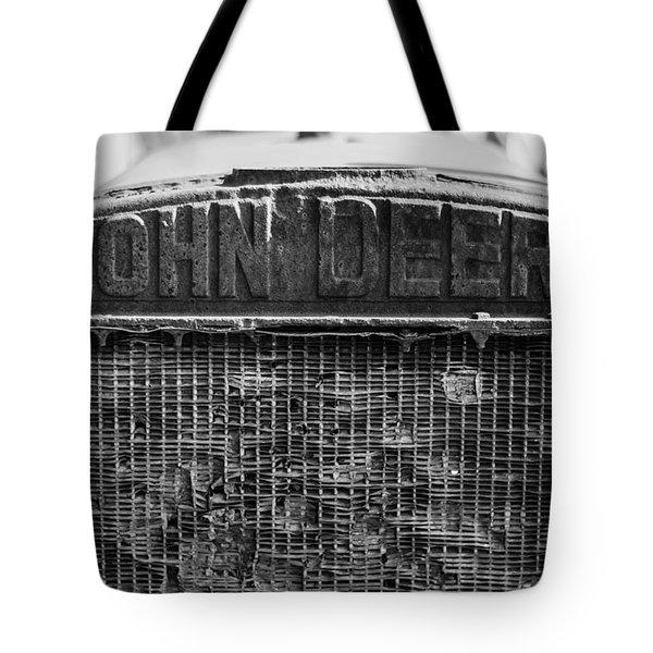 John Deere In Monochrome Tote Bag