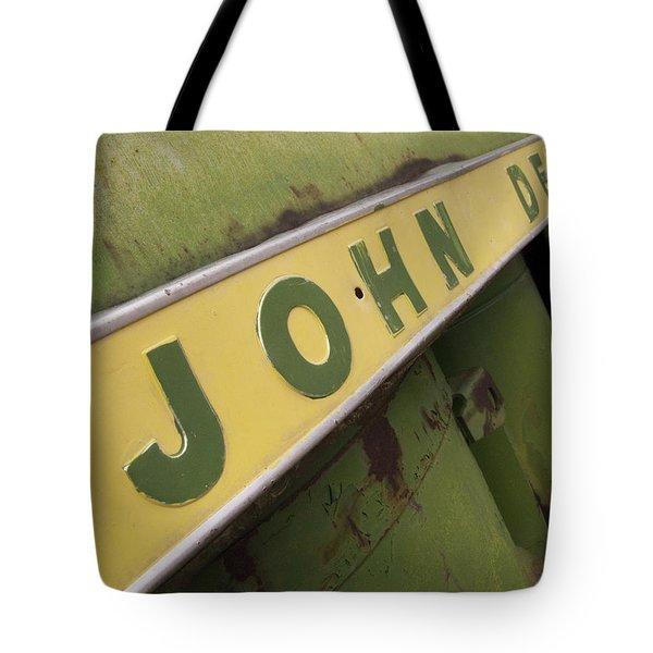 John Deere Tote Bag by Jeffery Ball