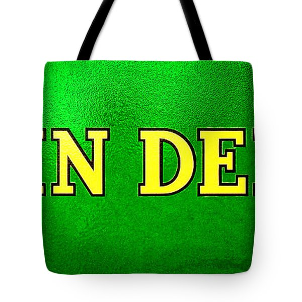 John Deere Nameplate Tote Bag