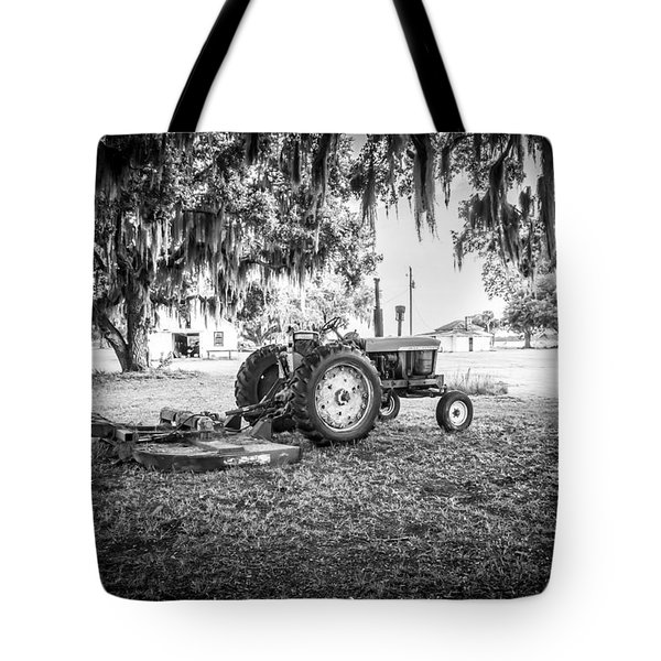 John Deere Ready To Mow Tote Bag by Scott Hansen