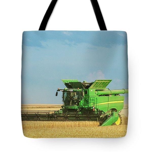 John Deere S690 Tote Bag