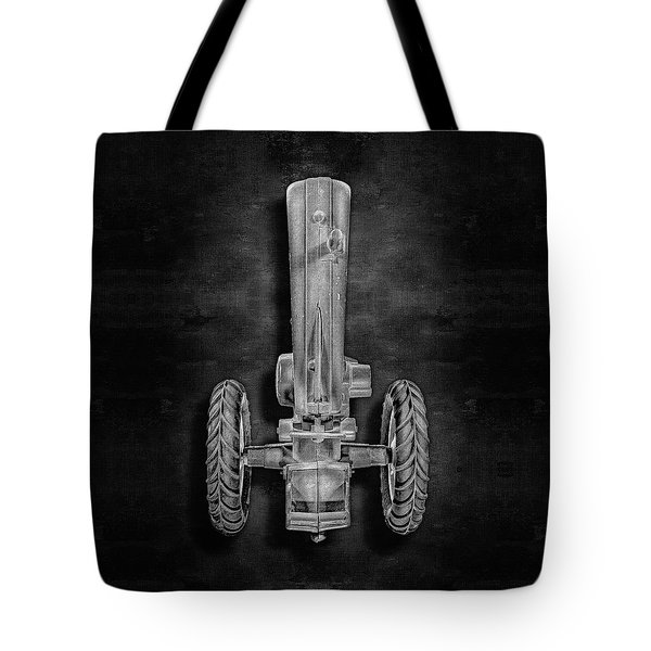 Tote Bag featuring the photograph John Deere Top Bw by YoPedro