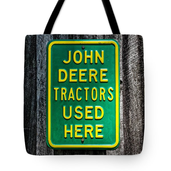 John Deere Used Here Tote Bag