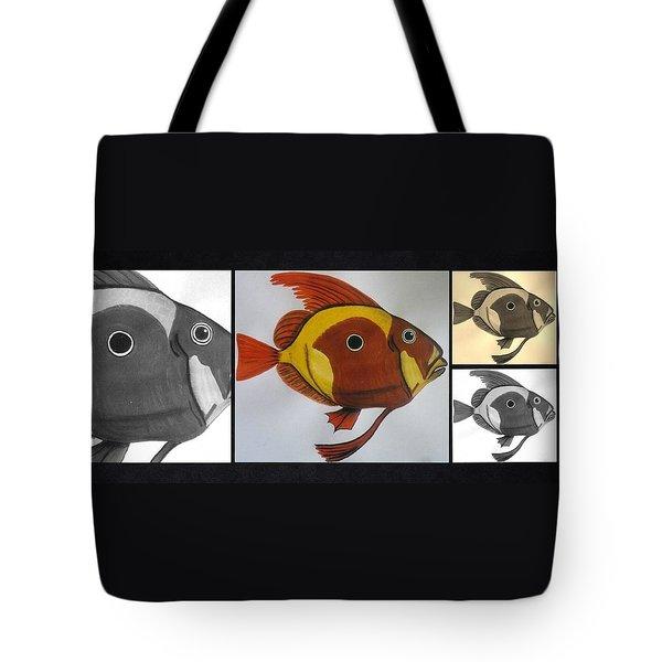 John Dory Collage Tote Bag