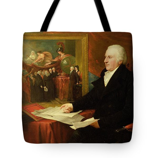 John Eardley Wilmot  Tote Bag by Benjamin West