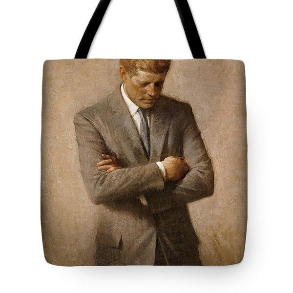 John F Kennedy Tote Bag