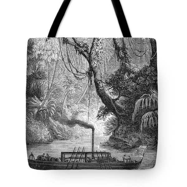 John Fitch Steamboat Tote Bag by Granger