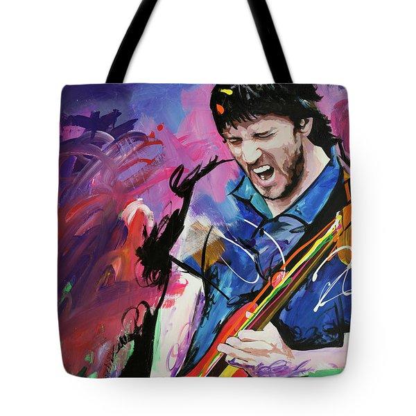 John Frusciante Tote Bag