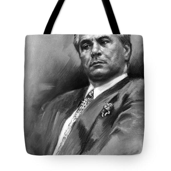 John Gotti Tote Bag