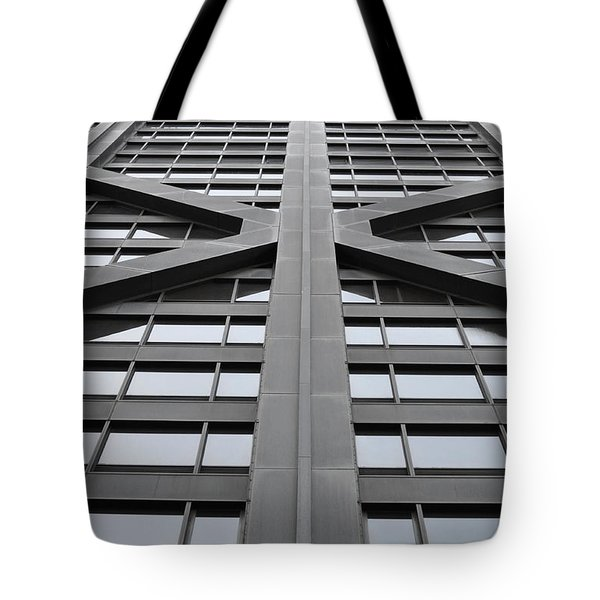 John Hancock Building Tote Bag by Mary Machare