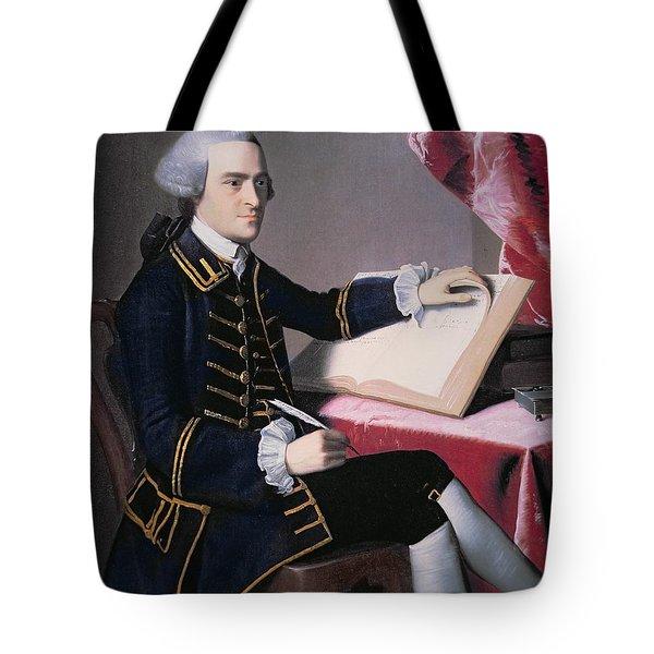 John Hancock Tote Bag by John Singleton Copley