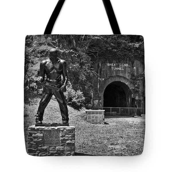 John Henry - Steel Driving Man Tote Bag
