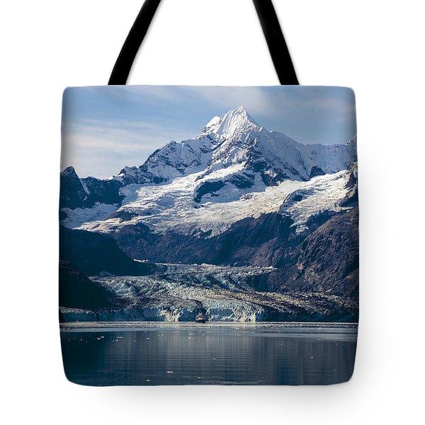 John Hopkins Glacier 3 Tote Bag