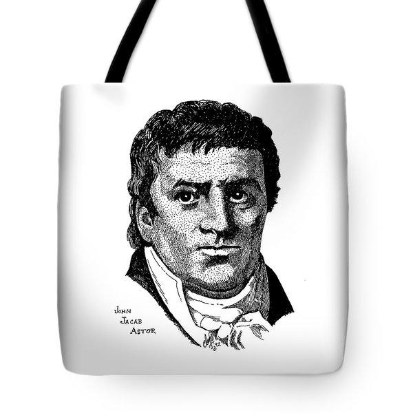 John Jacob Astor Tote Bag