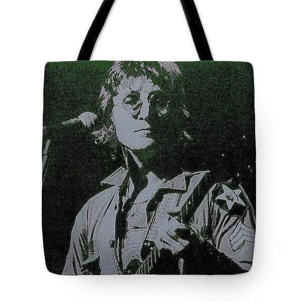 John Lennon Tote Bag by David Patterson