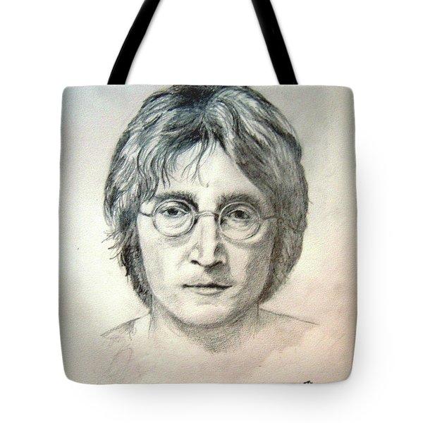 John Lennon Imagine Tote Bag