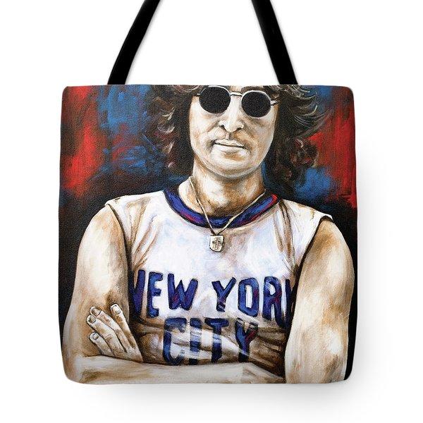 John Lennon Tote Bag