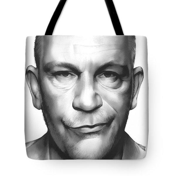 John Malkovich Tote Bag by Greg Joens