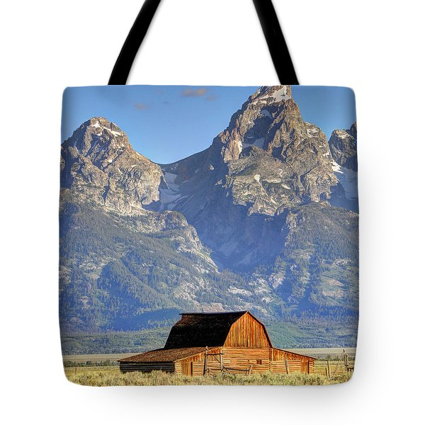 John Moulton Barn - Grand Teton National Park Tote Bag