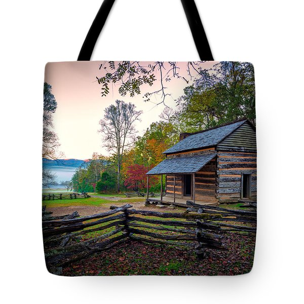 John Oliver Place In Cades Cove Tote Bag