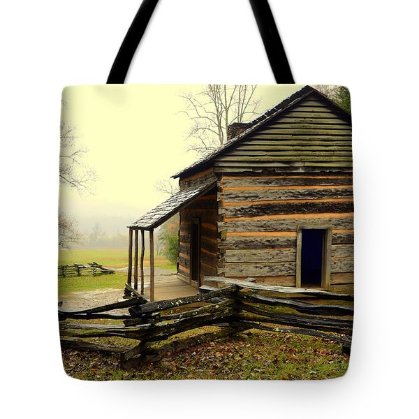 John Olivers Cabin Tote Bag