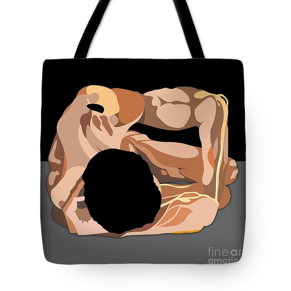 On His Side Tote Bag