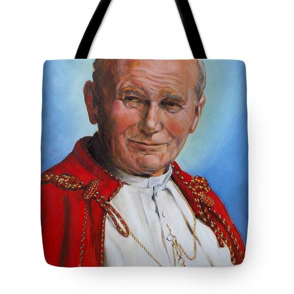 John Paul II Tote Bag