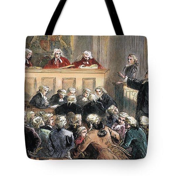 John Peter Zenger Trial Tote Bag by Granger