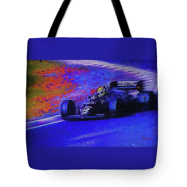 Tote Bag featuring the mixed media John Player Special by Marvin Spates