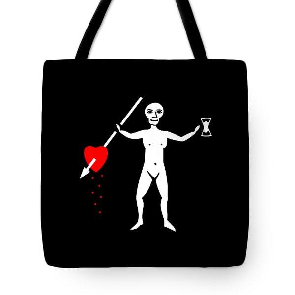 John Quelch Pirate Flag Tee Tote Bag