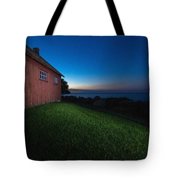 John R. Park Homestead - Sunrise Tote Bag