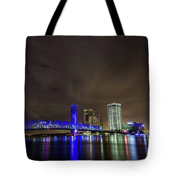 John T. Alsop Bridge Tote Bag