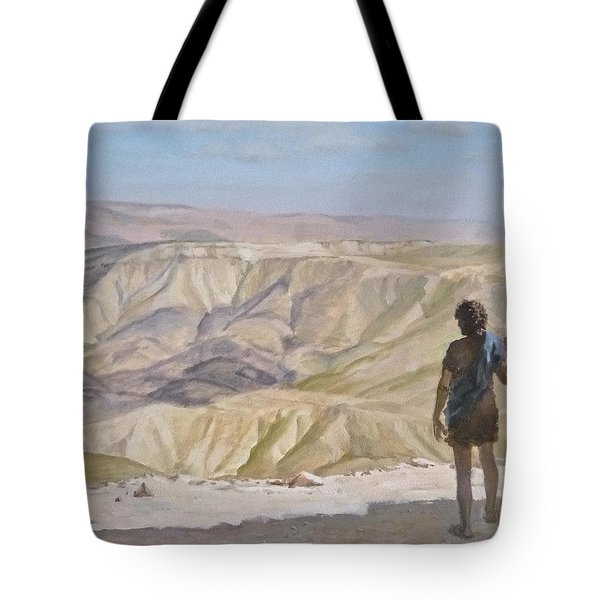 John The Baptist In The Desert Tote Bag