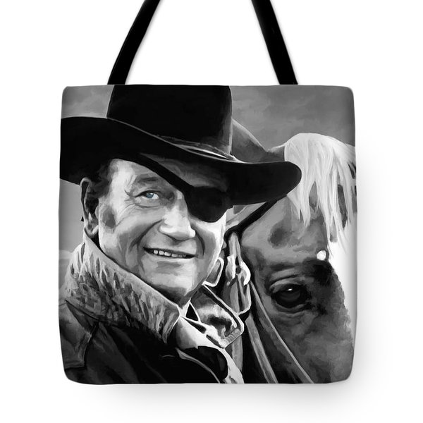 John Wayne @ True Grit #1 Tote Bag