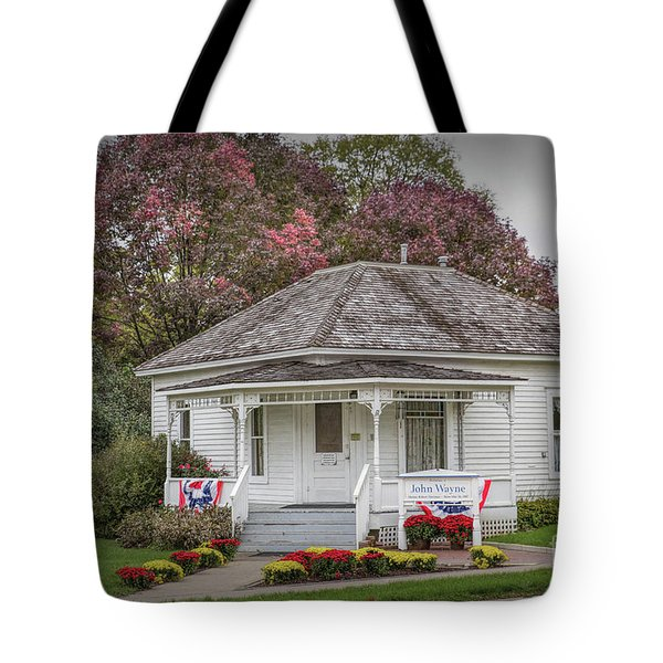 John Wayne Birthplace Tote Bag