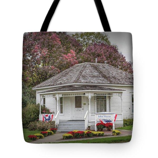 John Wayne Birthplace Tote Bag by Lynn Sprowl