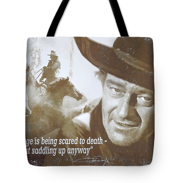 John Wayne - The Duke Tote Bag