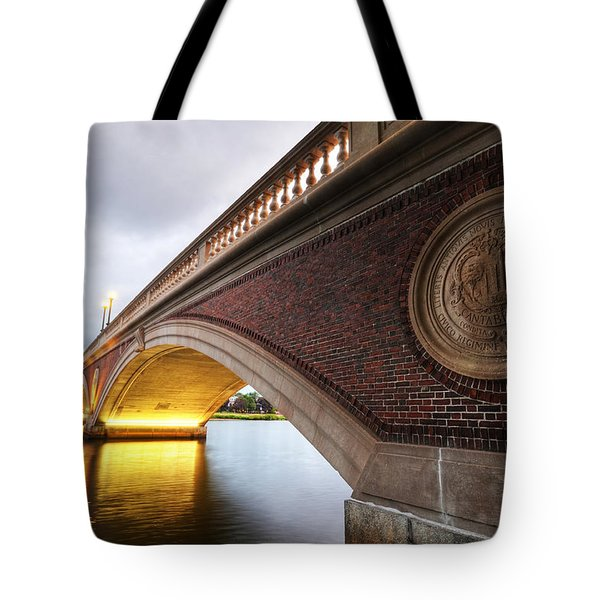 John Weeks Bridge Charles River Harvard Square Cambridge Ma Tote Bag