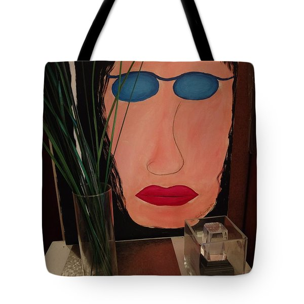 Johnlennonborderline Tote Bag