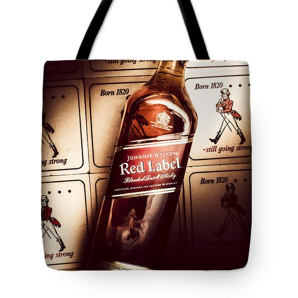 Johnnie Walker Red Label Blended Whisky  Tote Bag